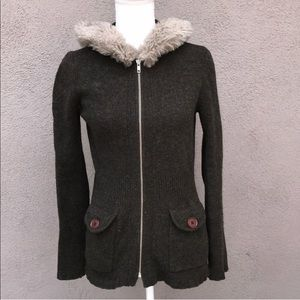 Anthropologie•Sleeping On Snow Wool Jacket